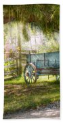 Country - The Old Wagon Out Back  Bath Towel
