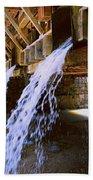 Country Waterfall Bath Towel