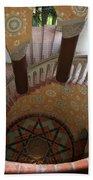 Stairway Courthouse Santa Barbara Bath Towel