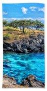 Cove At Mahukona Bath Towel