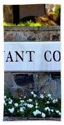Covenant College Sign Bath Towel