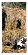 Cow Country Buffet Hand Towel