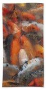 Coy Pastel Chalk 2 Bath Towel