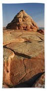 Coyote Buttes Rock Formation Bath Towel