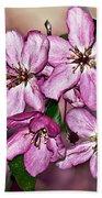 Crabapple Blossom Bath Towel