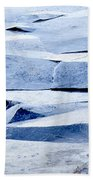 Cracked Icescape Bath Towel