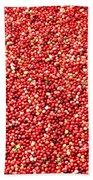 Cranberry Harvest 3 Bath Towel