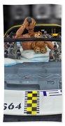 Crash Dummy Bear Bath Towel
