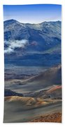 Craters And Cones Bath Towel