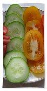 Craving For Fresh Vegetables Bath Towel