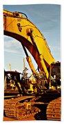 Crawler Excavator - Komatsu - Digger - Machinery Bath Towel