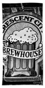 Crescent City Brewhouse - Bw Bath Towel