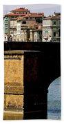 Crossing The Arno Bath Towel