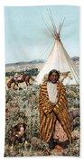 Crow Indian 1902 Bath Towel