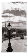 Cruise On The Seine Bath Towel