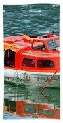 Cruise Ship Tender Boat  Bath Towel