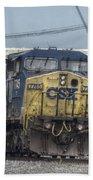 Csx 7745 Engine 01 Bath Towel