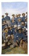 Cuba - Tenth Cavalry 1898 Bath Towel