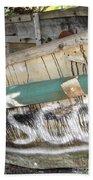 Cuban Refugees Boat 2 Bath Towel