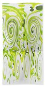 Curly Greens Bath Towel