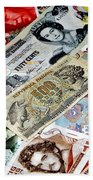 Currencies Bath Towel