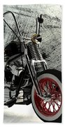 Custom Bobber Bath Towel