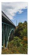 Cut River Bridge 1 C Bath Towel