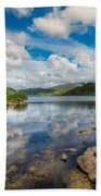 Cwellyn Lake Wales Bath Towel