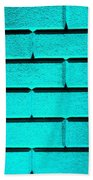 Cyan Wall Bath Towel