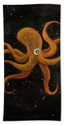 Cycloptopus Black Bath Towel