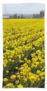 Daffodil Field Bath Towel