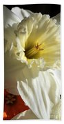 Daffodil Still Life Bath Towel