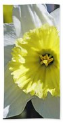 Daffodil Sunshine Bath Towel