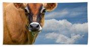 Dairy Cow  Bessy Bath Towel