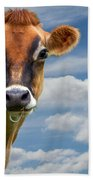 Dairy Cow  Bessy Hand Towel