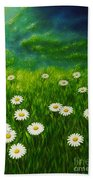 Daisy Meadow Bath Towel