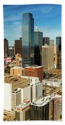 Dallas Skyline As Seen From Reunion Hand Towel