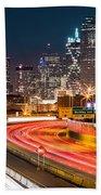 Dallas Skyline Bath Towel