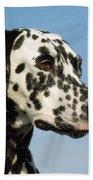 Dalmatian Dog Bath Towel