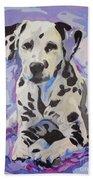 Dalmatian Puppy Bath Towel