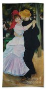 Dance At Bougival Renoir Bath Towel
