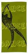 Dance Dance Dance Hand Towel