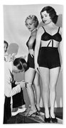 Dance Director Selecting Girls Bath Towel