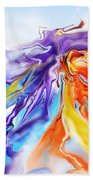Dance Of Colors Bath Towel