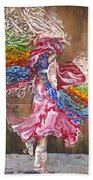 Dance Through The Color Of Life Hand Towel