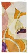 Dancing Anemones Bath Towel