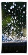 Dancing Droplets Bath Towel