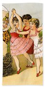 Dancing Girls Bath Towel