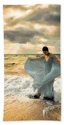 Dancing In The Surf Bath Towel