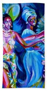 Dancing Panama Bath Towel